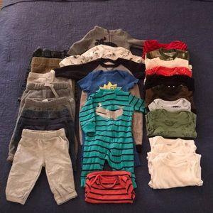 26 Item Infant Lot- 3M- Winter Wear- EUC!